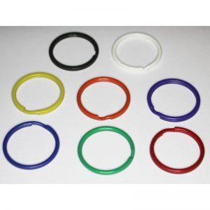 Gekleurde Sleutelring 25 mm