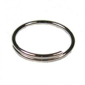 Sleutelring / draadring 18 mm, 1,33 winding